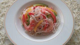 다이어트 요리 곤약잡채 만들기/ 오돌~ 오돌한 맛있는 …