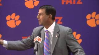 "TigerNet.com - Dabo Swinney blasts reporter using ""Clemsoning"" terminology"