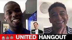 UTD Hangout | Paul Pogba & Jesse Lingard | Manchester United