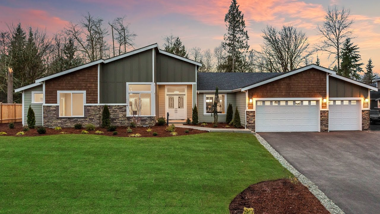Sapphire Homes NW | Kaiana Meadows | 3201 Rambler Floor Plan
