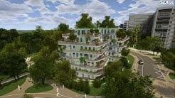 Vélizy TV : Découvrez en 3D le futur écoquartier Louvois avec tous ses aménagements à venir