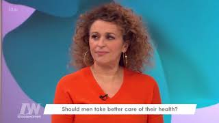 Andrea Feels Men Only Go to the Doctor When Pushed by a Woman | Loose Women