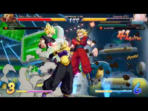 Android 21 Death Combo 100%