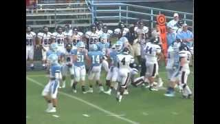stanly county monday night football central academy vs nshs 1st half