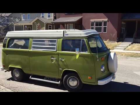 1976 VW Bus Subaru 2.5L JDM engine conversion