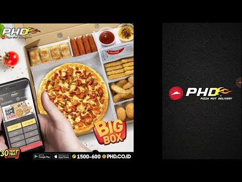 Cara Order Pizza Hut Delivery PHD Via Hp Online