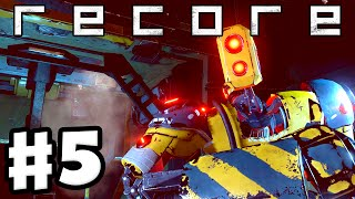 ReCore - Gameplay Walkthrough Part 5 - Duncan in the Lost Crawler! (PC, Xbox One)