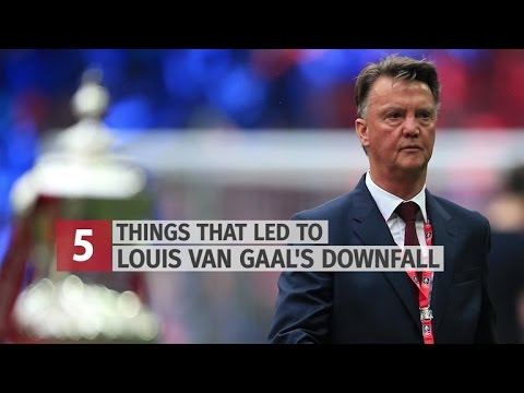 Five Reasons For Louis van Gaal's Downfall At Manchester United