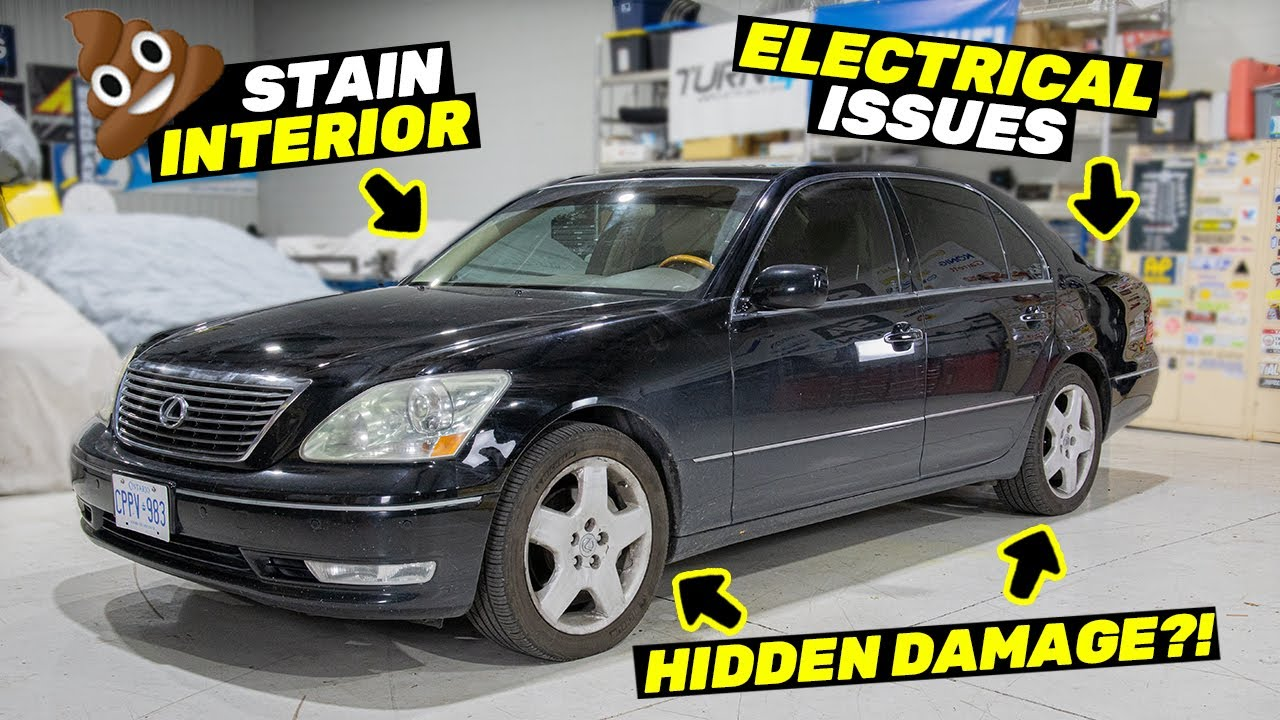 Did We Buy a Lemon? Everything Wrong with the $6K Lexus LS430