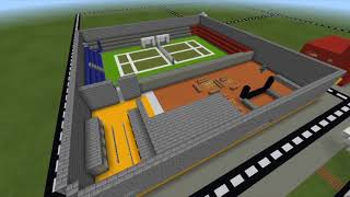 Building a tennis arena | time lapses