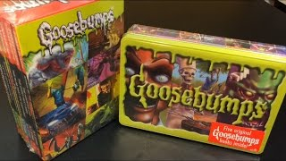 Goosebumps Book Sets Retro Scream Collection and Limited Edition Collectible Tin 2015