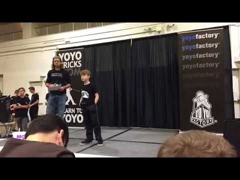 Michael Roof, Age 9. 2017 Chicago Illinois Yoyo Competition.