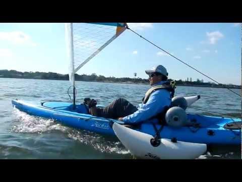 Hobie Kayak Sailing Kit installation video