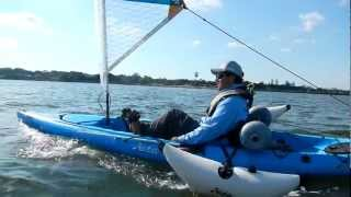 Hobie Kayak Sailing Kit installation video(Hobie Kayak Sailing Kit installation video http://www.saltyshores.com., 2012-06-28T12:30:44.000Z)