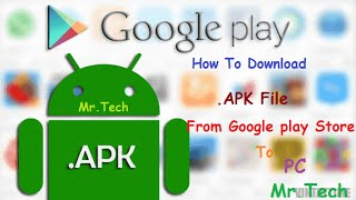 How To Download .apk File From Google Play Store To PC. | Hindi |  Simple/Easy/Fast