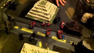 Black Legion Vs. Red Corsairs 1850Pt Demon World Battle Pt3.