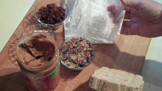 Making Wild Bird Food Suet Cakes