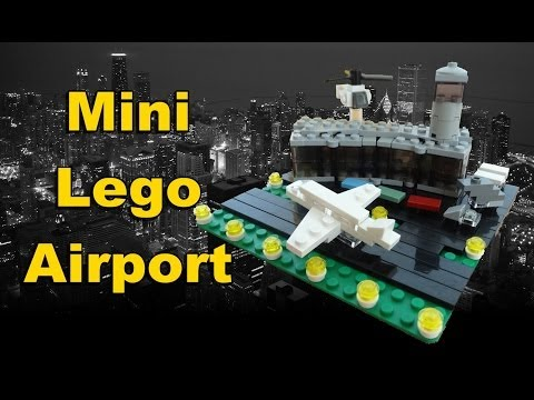 how to build a mini lego plane