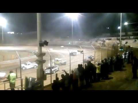 Demo derby at Murray bridge speedway