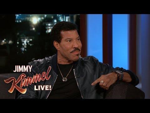 Lionel Richie on Embarrassing His Kids, Awards & Stevie Wonder