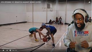 FLIGHT HANDLES MADE KENNY TOUCH THE FLOOR! Flight vs Kenny 1v1 Basketball!