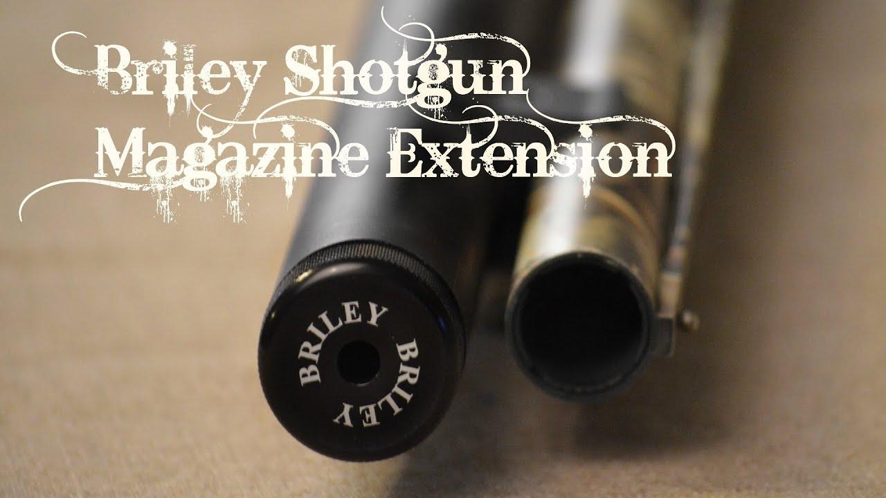 Briley Magazine Tube Extension Youtube