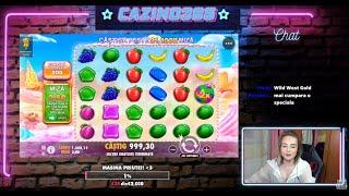 Sweet Bonanza - Jocuri ca la aparate - Nebunie cu Priuta 100X la speciala - Big Win!!!