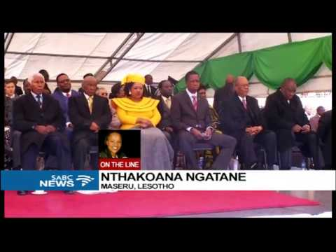 Nthakoana Ngatane on Lesotho's Tom Thabane inauguration