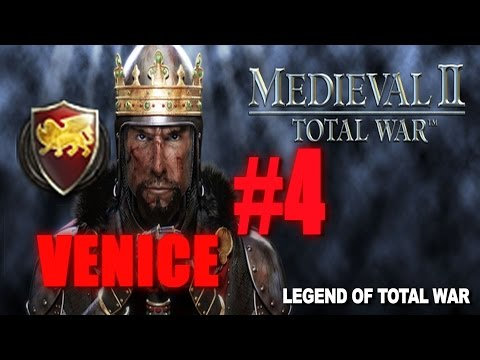 [#4] VENICE CAMPAIGN - Medieval 2 Total War Gameplay