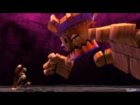 Donkey Kong Country Returns - 100% Walkthrough Part 8 - World 8 Volcano
