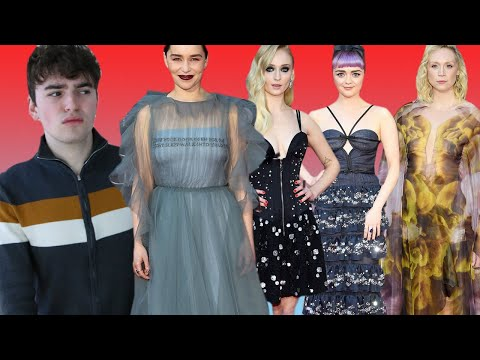 Game Of Thrones Season 8 Premiere Red Carpet 2019 (the Seven Kingdoms Are Ensembly Challenged)