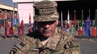 U S  and NATO Officially End Combat Mission in Afghanistan