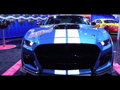 2020 Ford Mustang Shelby GT500 | Exterior Walkaround & First Look | Auto Show