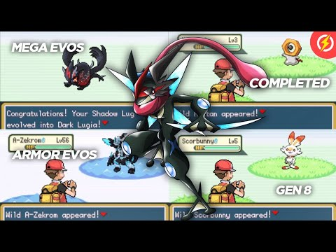 New Completed Pokemon GBA Rom Hack with Gen 8, New Mega Evolutions, New Armor Evolution & More! - 동영상