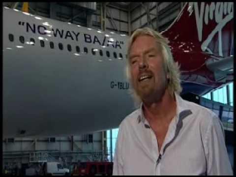 Virgin Atlantic Sir Richard Branson against BA and AA fusion