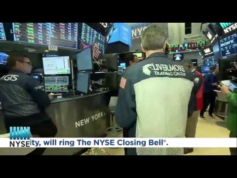 Barclays Rings The NYSE Closing Bell