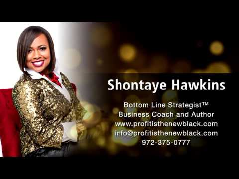 Business Coach Shontaye Hawkins live on the radio in Dallas/