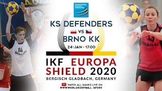 IKF ES 2020 KS Defenders Korfball Wrocław - Brno KK