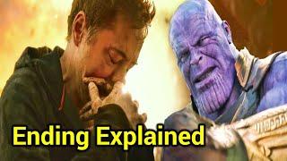 Avengers Infinity War Ending Explained in HINDI   Avengers Infinity War Last Scene Explain In HINDI
