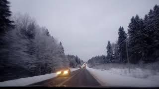 Зимняя дорога на Хотьково