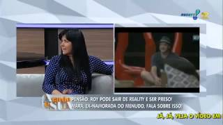 Ele nunca me bateu', diz Mara Maravilha sobre o ex namorado Roy - A Tarde é Sua 24/09/2014