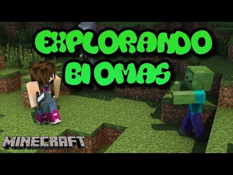 Minecraft Survival - EXPLORANDO BIOMAS #08
