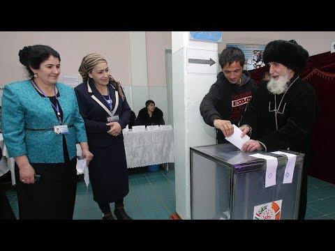 На выборах в Таджикистане проголосовали более миллиона избирателей