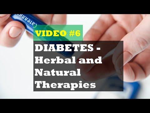 DIABETES - Herbal and Natural Therapies