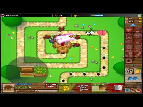 Download bloons tower defense 5 btd5 protect monkey town new special