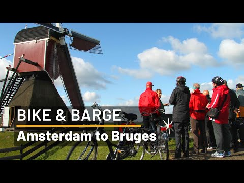 Amsterdam to Bruges Bike and Barge - Deluxe boat