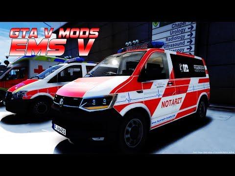 GTA V: EMS-MODS ➤ #11: JEDE Sekunde zählt! [4K|Deutsch]