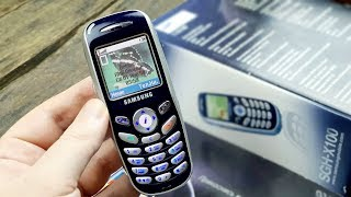 Samsung SGH-X100: прикоснись к искушению (2003) – ретроспектива