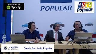 Autos híbridos y facilidades digitales en la Autoferia Popular