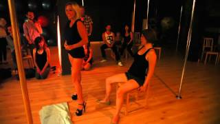 Tammy Morris surprises her student with a Birthday Lap Dance!